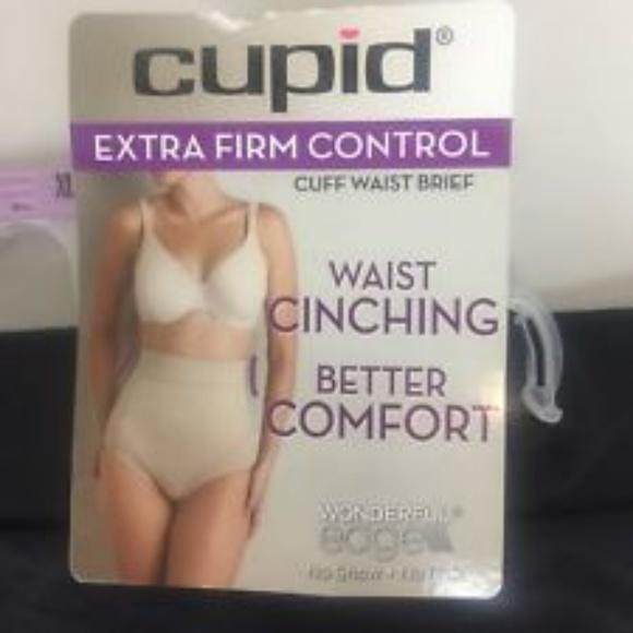 6ceeb49c1da2b Cupid Other - Cupid Beige Tummy Control Slip On Shapewear L